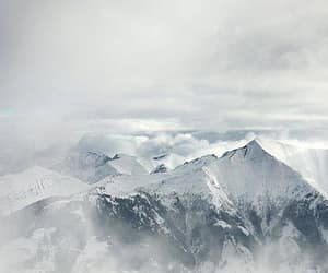 Alps, clouds, and mountains image