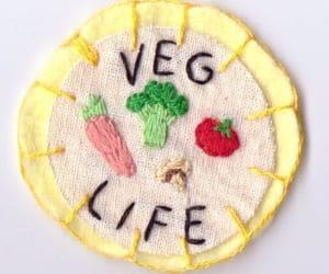aesthetic, vegan, and vegetarian image