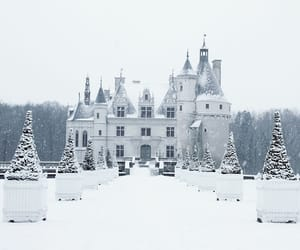 aesthetic, house, and snow image