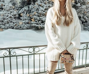 blonde, boots, and fashion image
