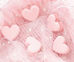 hearts, pink, and pretty image