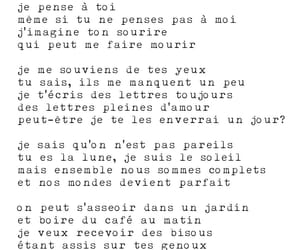 amour, cafe, and french image