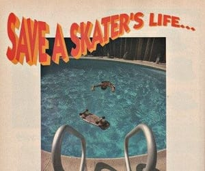 skate, pool, and aesthetic image