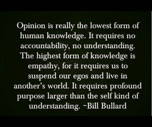empathy, opinion, and quotes image