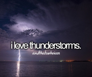 thunderstorm, love, and quote image