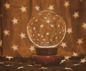 stars, aesthetic, and crystal ball image