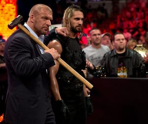 wwe, triple h, and the shield image