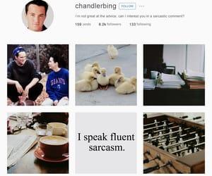 aesthetic, chandler bing, and character image