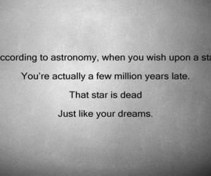 stars, Dream, and quotes image