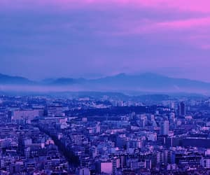 landscape, photography, and purple image