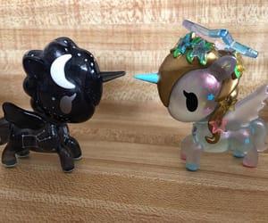 galactica, kawaii, and unicorno image