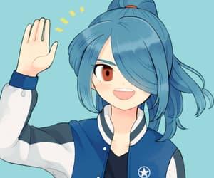 anime, inazuma eleven, and kazemaru ichirouta image