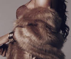 classy, fashion, and fur image