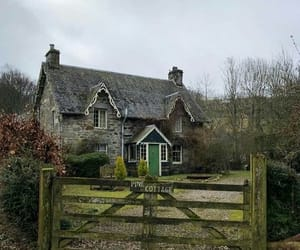 cottage, house, and photography image