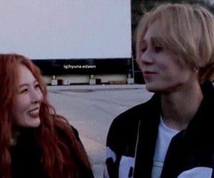 kino, kim hyuna, and jinho image