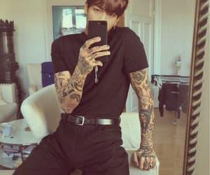 tattoo, boy, and bts image