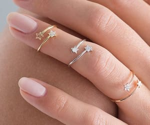 ring, small, and stars image
