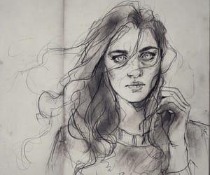 art, sketch, and fdasuarez image