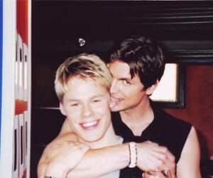 Queer as Folk, brian kinney, and gay couple image