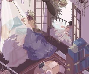 alone, anime, and calme image