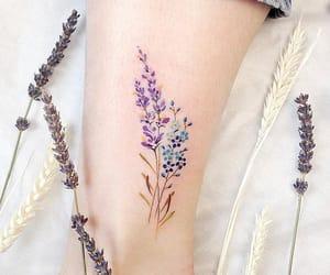 lavanda, purple, and tattoo image