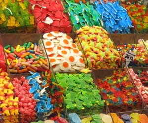 candy, Candy Store, and gummy bears image