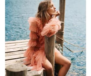 apricot, dress, and jetty image