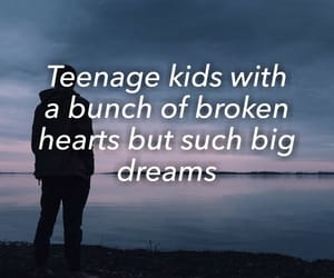 dreams, quote, and teenagers image