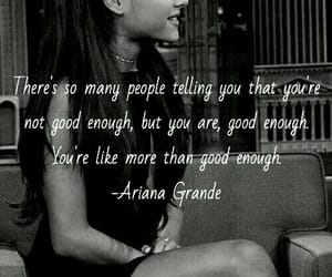quote and ariana grande image