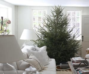 christmas, interiors, and country living image