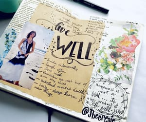 art, art therapy, and journal image