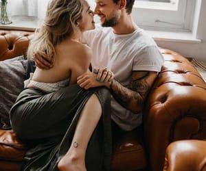boy, hug, and kiss image