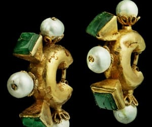 byzantine, earrings, and history image