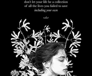 art, quote, and save yourself image