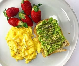 egg, healthy, and food image