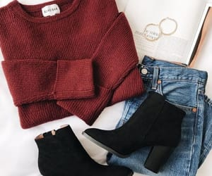 winter, fashion, and clothes image