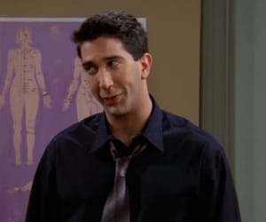 90s, aesthetic, and ross geller image