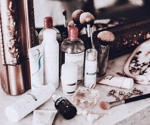 cosmetics, makeup, and mirror image