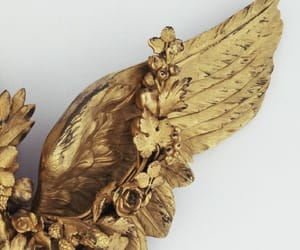 gold and wings image