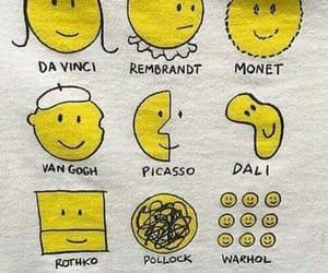 art, yellow, and history image