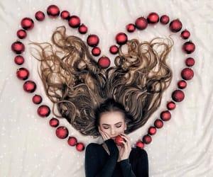beauty, christmas, and fashion image