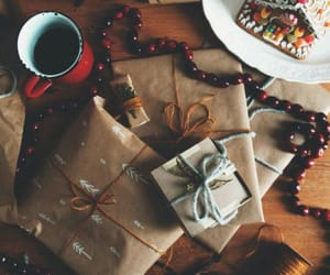 christmas, winter, and gift image