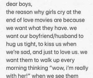 crying, girls, and movies image