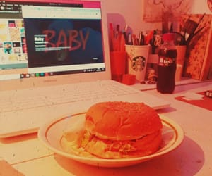baby, food, and vhs image