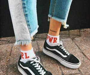 fashion, vans, and beauty image