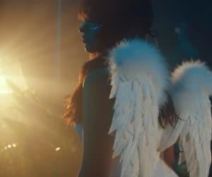 angel, girl, and music image