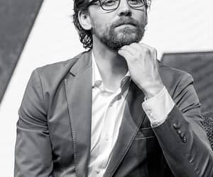 black & white, Marvel, and loki image