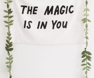 magic, quote, and green image