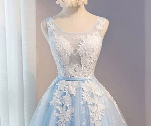 dresses, evening dresses, and Prom image