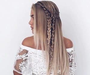 braids, fashion, and girl image